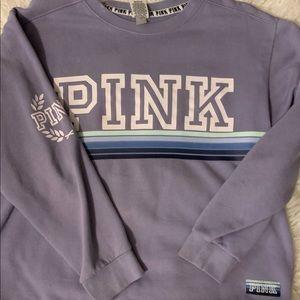 PINK VS crew neck sweater
